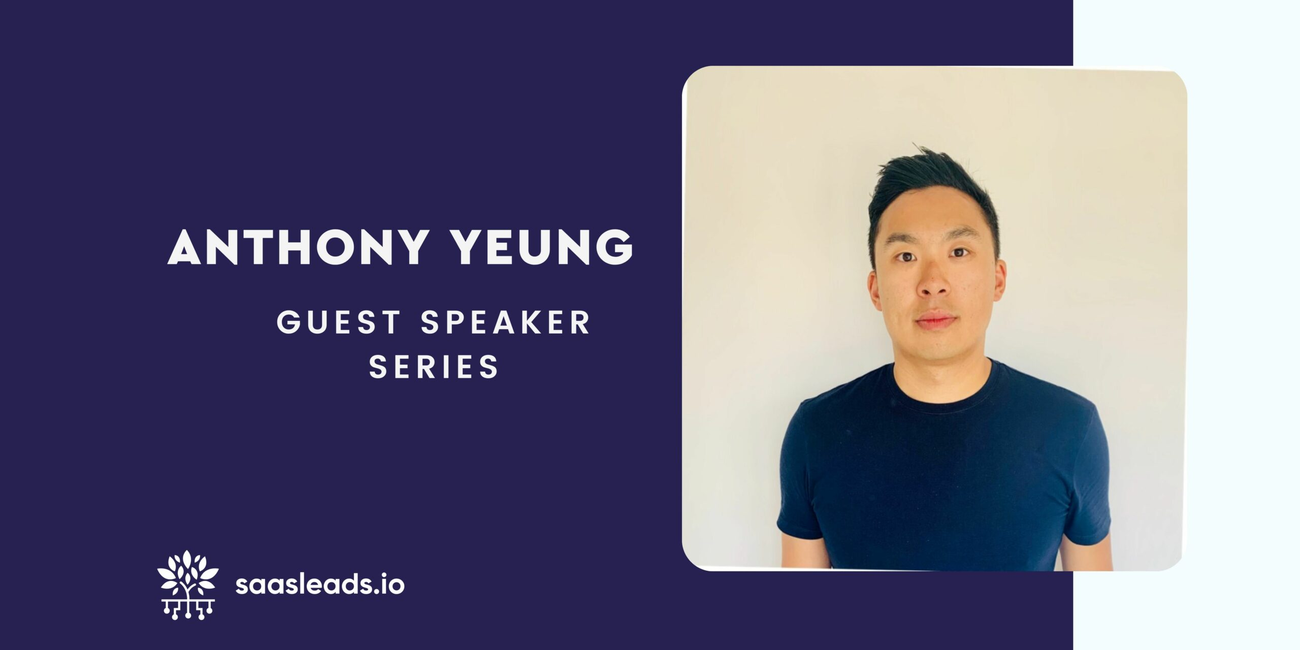 Guest Speaker Series – Anthony Yeung – VP of Growth at Judopay